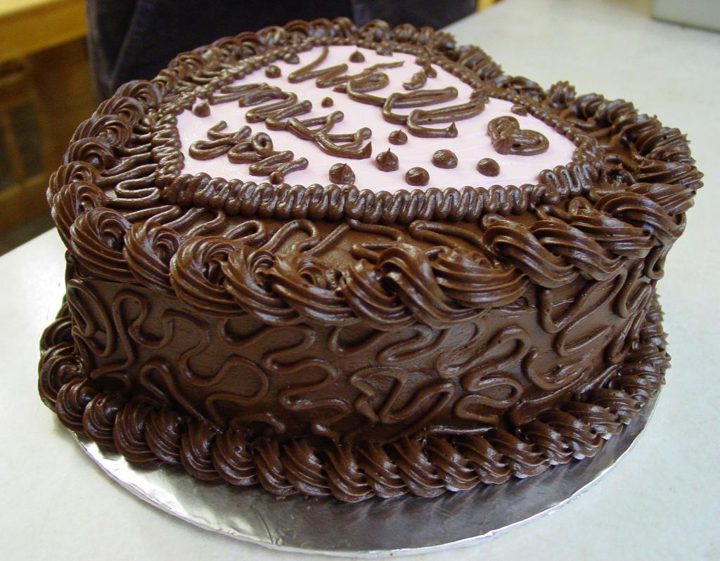 کیک تولد من